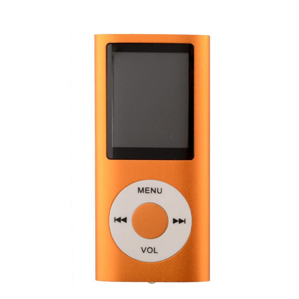 2018 New MP3 MP4 Player 1.8 LCD Video Radio Movie FM Support 8GB 16GB 32GB Micro SD TF Memory Card 4th Generation