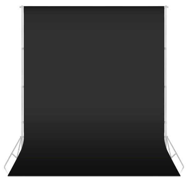 7 цветов 1.6X1 м Фотостудия Зеленый экран Хроматический фон Фон Фон для студийного фото освещения Нетканый ЧЕРНЫЙ фон