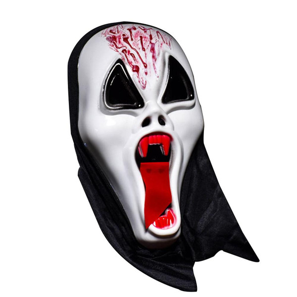 Halloween Masque Ghost Horror Masquerade Ghost Festival Whole Person Halloween Mask Full Face Props Horror Single Devil Mask