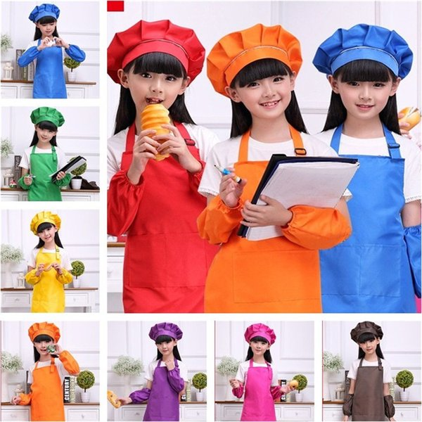 New Kids Aprons Cooking Baking Art Painting Kids Kitchen Bib Sleeveless  Children Aprons T3I0358 Apron Patterns Kids Aprons From Tina310, $5.01| ...