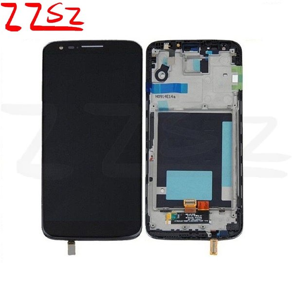 Original for LG G2 LCD Display & Touch Screen Digitizer Full Assembly Glass Touch Panel 100% Tested with repair tools free shipping DHL
