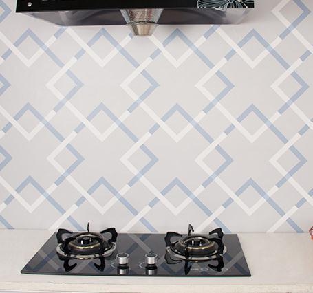 Modern Geometric Waterproof Vinyl Self Adhesive Wallpaper Sticker