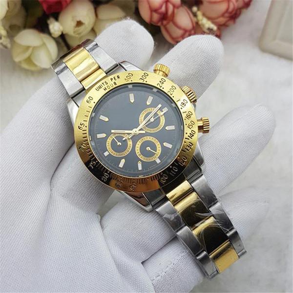 2018 Swiss top brand men's quartz watch All steel men's fashion sports watch clock Wrist watches waterproof Di Tong Na series reloj hombre