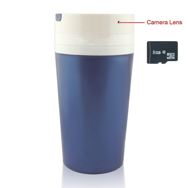 32GB de memoria incorporada Cámara de la taza de agua portátil 1280 * 960P Video Keep Motion Activities Detector Interior de seguridad exterior Cam PQ157