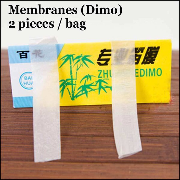 10 Bags Chinese Flute Dimo Dizi Membranes Traditional Musical Instrument Accessories Transparent Flauta Membrana