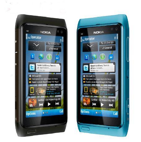 "Original Unlocked Nokia N8 Mobile Phone 3G WIFI GPS 12MP Camera 3.5"" Screen 16GB Storage cheap phone"
