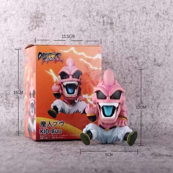 brinquedos de ação Anime figrue Dragon Ball Majin Buu 12 centímetros de banda desenhada Nendoroid brinquedo dom coleção estatueta