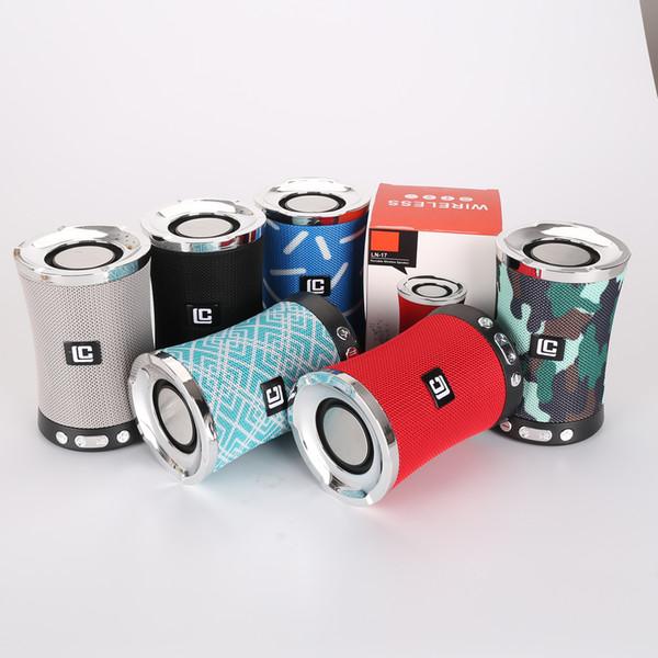 LN-17 Kablosuz Bluetooth Hoparlör Taşınabilir Ses Kutusu Küçük Ses Radyo U Disk Bluetooth Hoparlör Mini Kart Subwoofer