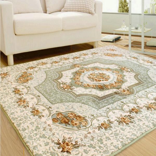 Chenille Living Room Europe Carpet Chair Yoga Mat Jacquard Sofa Floor Mats  Doormat Rugs And Carpets For Home Decoration Carpet Depot Cheap Carpet ...