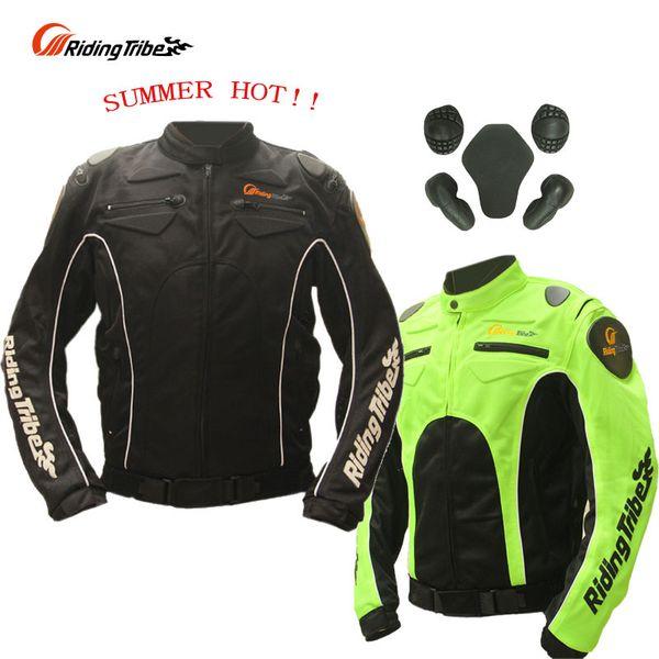 SUMMER Riding Tribe JK-08 motorcycle jacket with body armor,ventilate Mesh Fabric jaqueta / jaquetas Moto M L XL XXL XXXL
