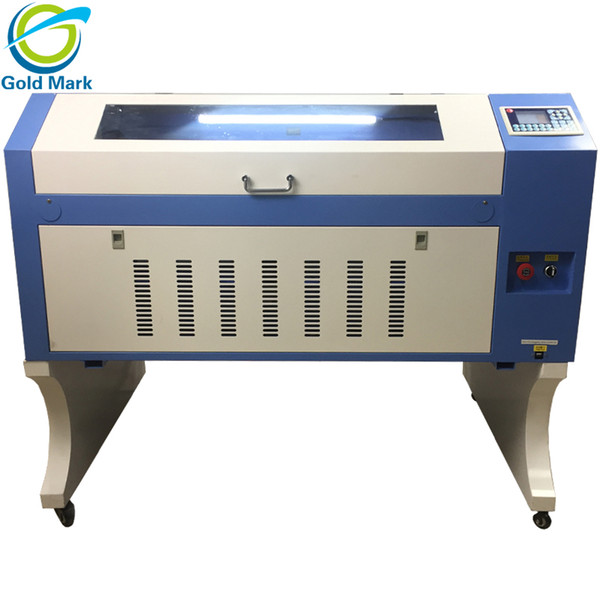 Laser Engraving ,Cutting Machine 600*900mm with topwisdom system 90W reci 220V/110V Sealed CO2 glass Tube