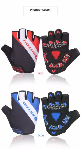 Cycling Gloves 2018 Summer Mtb Bike Bicycle Gloves Half Finger Glove Gel Pad Breathable Bycicle Accessories