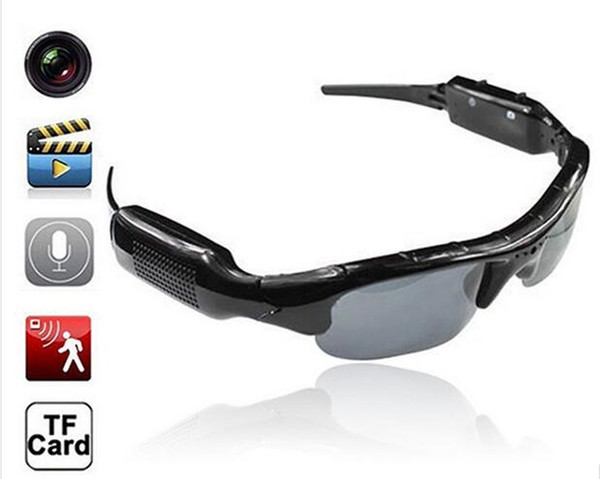 480P Digital Video Recorder mini Camera DV DVR Eyewear Sunglasses Camcorder Recorder Support TF card For Driving Outdoor Sports