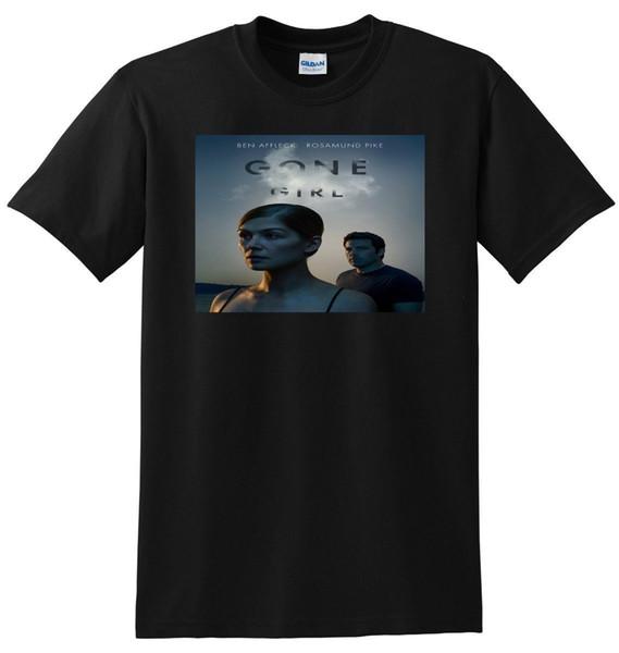 GONE GIRL T SHIRT Bluray Poster Tee New Man Design T-Shirt Print Classic Cotton Men Round Collar Short Sleeve Top Tee