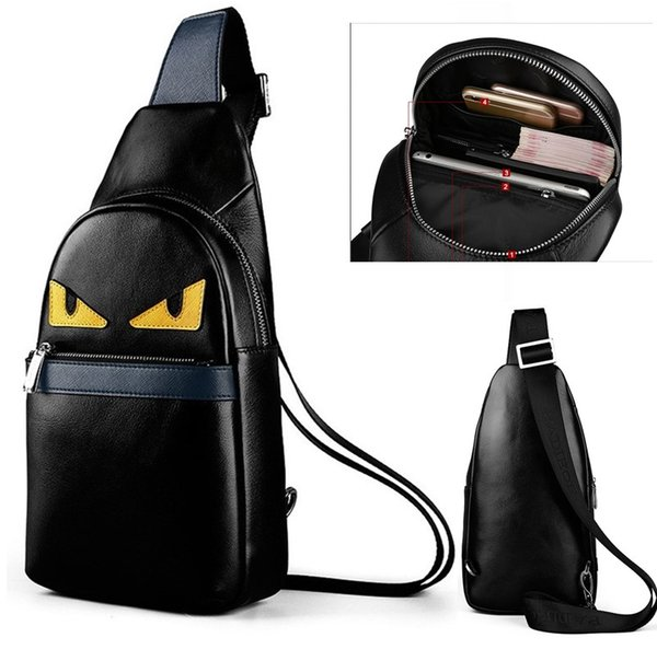 top popular High Quality New Men Bags Casual Travel Bols Msculina Women Messenger Bag Leather Canvas Waist Crossbody Shoulder Bag 2019