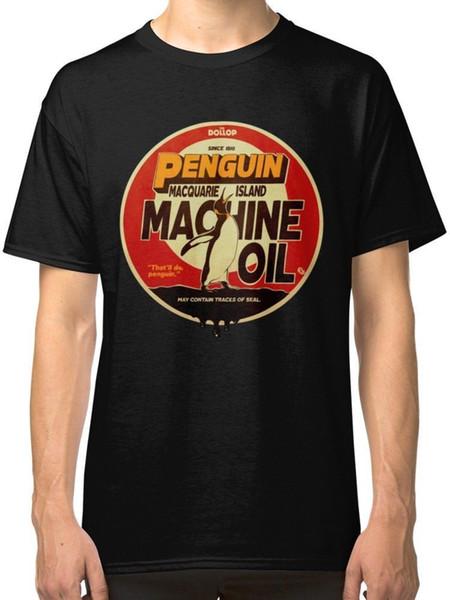 Der Dollop - Pinguin-Öl-T-Shirt T-Shirts Kleidung