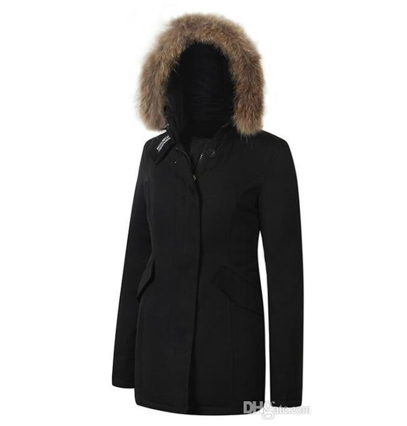 Mujeres Arctic Moda Mujer Abajo Chaqueta Woolrich Compre Anorak SqEt7nw