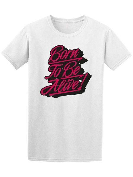 Рожденный, чтобы быть живым уличный футболка граффити - изображение от Shutterstock
