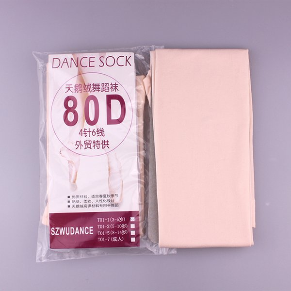 legging baby Fashion Nude Black White Footless Kid Tights Nylon Leggings Girls Children Ballet Dance Pantyhose 80D