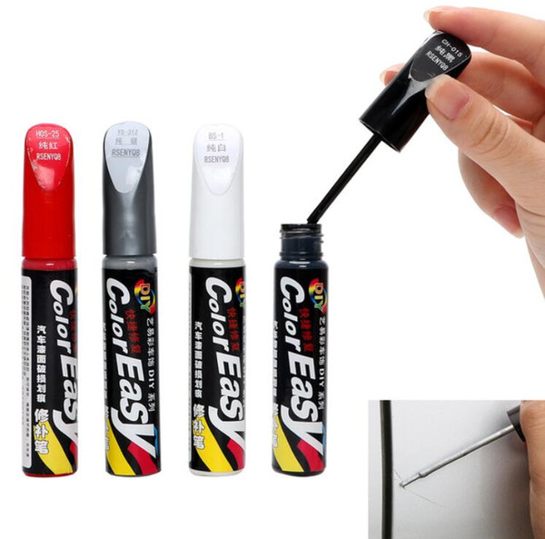 best selling Car Scratch Repair Fix it Pro Auto Care Scratch Remover Maintenance Paint Care Auto Paint Pen Car-styling Professional 4 Colors