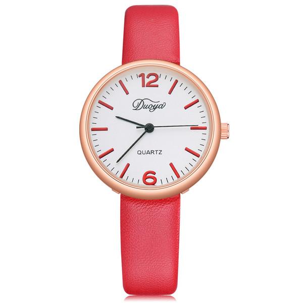 67e0406f1 Wristwatches lovers Fashion new for ladies Women Men Couple Watch Rounded  Analog Pointer round Quartz Wristwatch