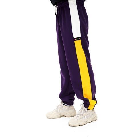 Best Quality Side Striped Colour Blocking Women Men Joggers Pants Hiphop Casual Men Sweatpants Trousers Track pants