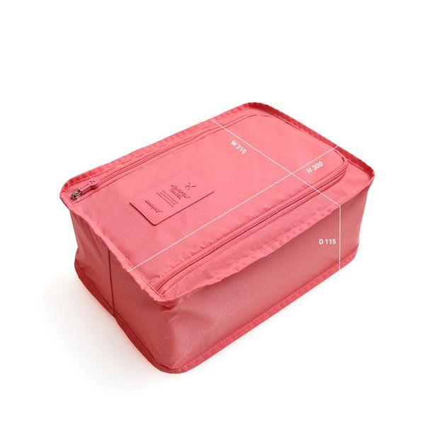 Seyahat su geçirmez ayakkabı kutusu altı renk ev ayakkabı çanta küçük ayakkabı kutusu su geçirmez çanta organizatör toptan