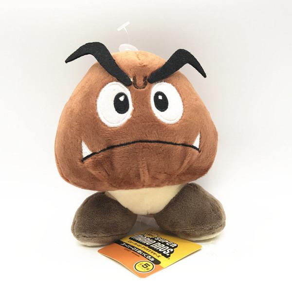 12cm Super Mario Bros.Sad Goomba Gefüllte Plüsch Puppe Spielzeug Nettes Spielzeug Geschenk NEU