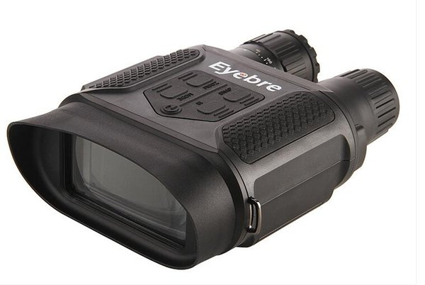 Eyebre Night Vision Binocular Telescope 400M 7X Infrared Hunting Optics Sight Binoculars with Digital HD Camera Video Recorder