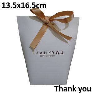 White Thankyou13.5*16.5cm