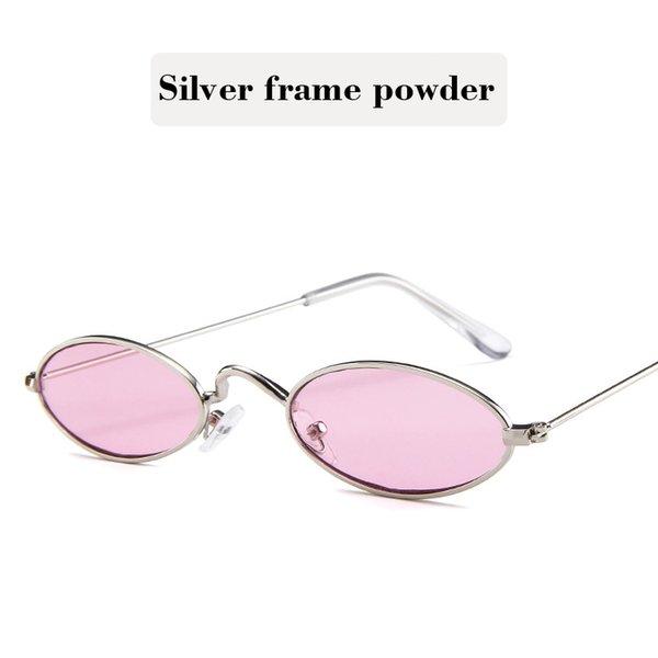 Silver frame powder