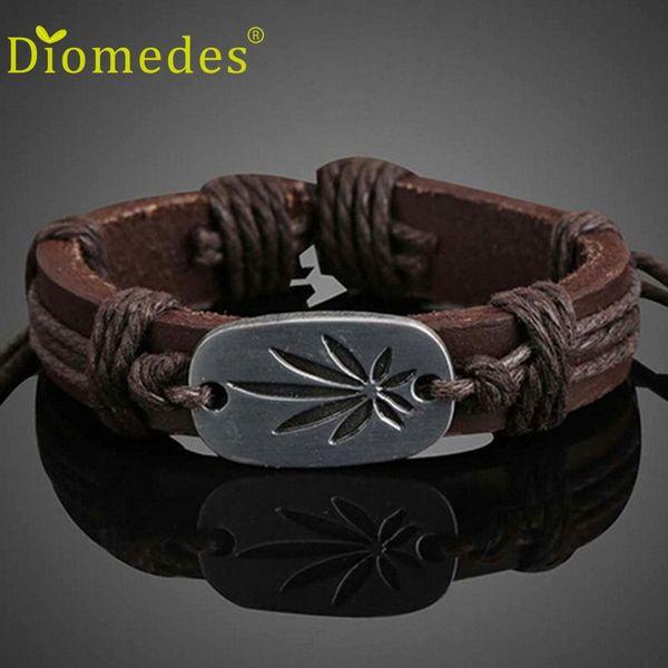 Diomedes Fashion Trendy Guitar Shape Women Men Girl Boy Braid Bracelet String Popular Casual Bracelet Drop Shipping C113