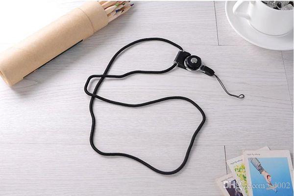 Longe en nylon détachable d'appareil-photo de tissage de courroies de téléphone portable de nouvelle