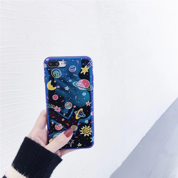 Cell Phone Cases Star Lovers Blue Light Fashion Mobile Protect Cover Mix Style Cellphone Shell for 78X New