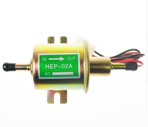 best selling High quality low pressure fuel pump HEP-02A - 12V fuel pump for carburetor, motorcycle , ATV for sale