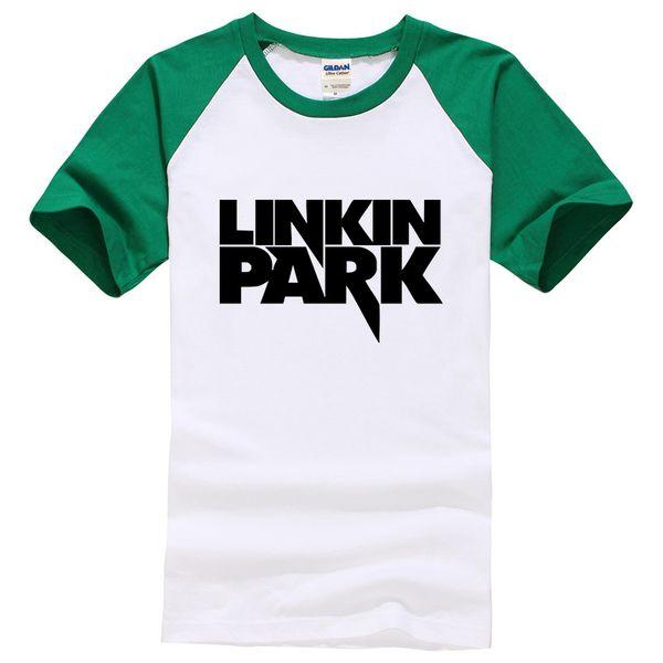 Summer Tees Linkin Park T Shirt Men Clothing Short Sleeve Man's cozy TShirt Rock Music Hip Hop linkin park T-Shirts Boy tops