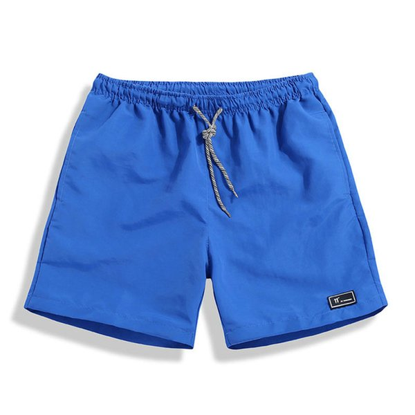 Casual Beach Shorts Men Breathable Shorts Male Elastic Waist Beach Men Knee Length Quick Drying Jogger Board Homme