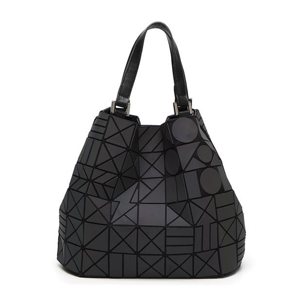 aa777422e460 Famous Brands Women Shoulder Bag Geometry Sequins Mirror Laser Plain  Folding Bags Luminous Handbags Casual Tote Female Handbag Leather Bags  Shoulder ...