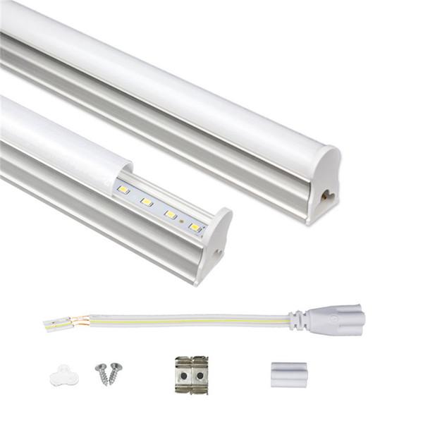 T5 integrierte LED-Röhre 1ft 2ft 3ft 4ft 175-265V LED-Leuchtstoffröhre SMD2835 6W 10W 14W 18W LED-Leuchten