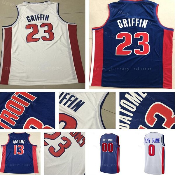 huge selection of b4d00 e2fc5 2018 Custom College Printed 81 Jose Calderon Jersey 23 Blake Griffin Keenan  Evans Zaza Pachulia Bruce Brown Khyri Thomas Johnny Hamilton Jerseys From  ...