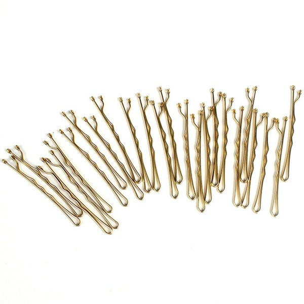 24pcs Useful Women Hair Grips 4 Colors Salon Invisible Hairpins Curly Wavy Bobby Pins For Hairdressing Styling DIY Tools