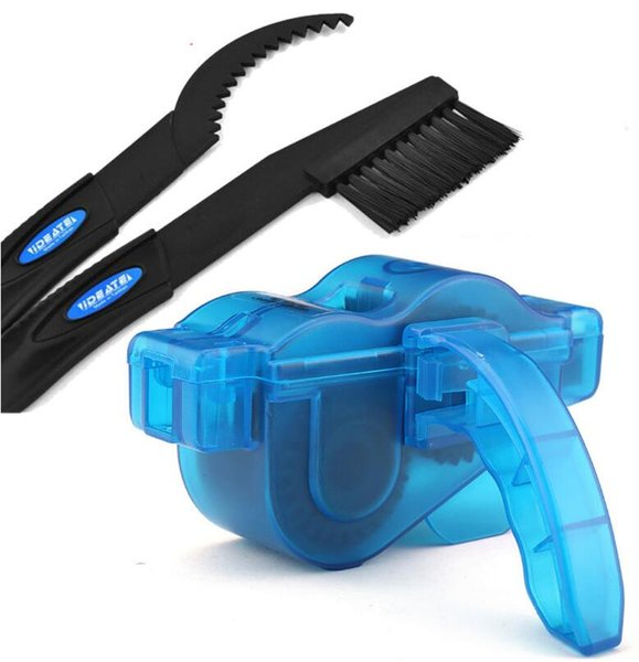 Mountain Bike Wash Tool Bicycle Chain Cleaner Scrubber Brushes Set Cycling Cleaning Kit Bicycle Repair Tools