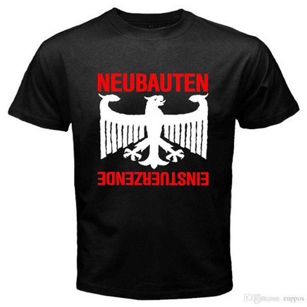 Einsturzende Neubauten Rock Band Logo Men/'s Black T-Shirt Size S M L XL XXL XXXL