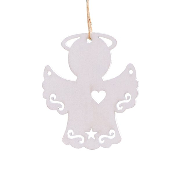 Christmas Decor Gifts Wooden Pendant Tree Ornament Party Home Hanging Decor Christmas Tree Decoration for Home W301106