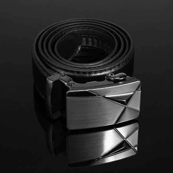 New Brand Designer Mens Belts Luxury PU Leather Belts For Men Metal Buckle Man Jeans Pants Genuine Leather Belt Male Strap