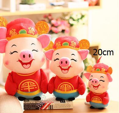 20cm Pig Year Mascot Doll Caishenfu Pig Plush Toy Pig Doll Cute Cloth Doll Gift Wholesale Creative Home Decoration Home Decor Kitchen Home Decor Modern From Hotstore2 140 71 Dhgate Com