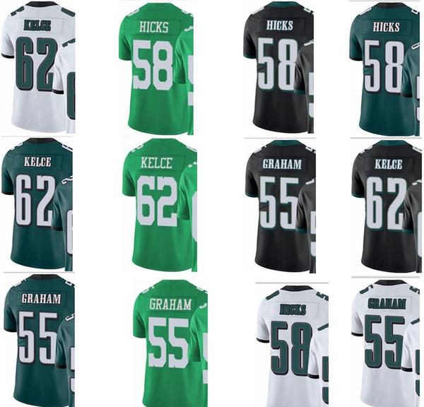 Eagle   Philadelphia   hombres   jóvenes   mujeres   55 Brandon Graham 58  Hicks 62 Jason Kelce Vapor Untouchable Limited   prisas camisetas de fútbol eda8af1a0