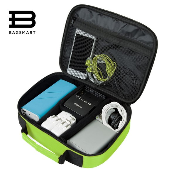 BAGSMART Electronic Accessories Organizers Bag For Hard Drive Organizer Earphone Charger Data Cable USB Travel Case Digital Bag