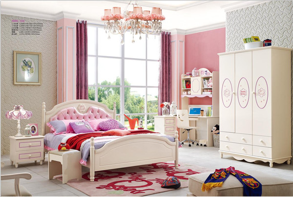 2019 Ash Solid Wood Children Bedroom Furniture Set Health Environmentally  Friendly Children Bed Wardrobe Desk Bedside Table From Wlnsfurniture, ...
