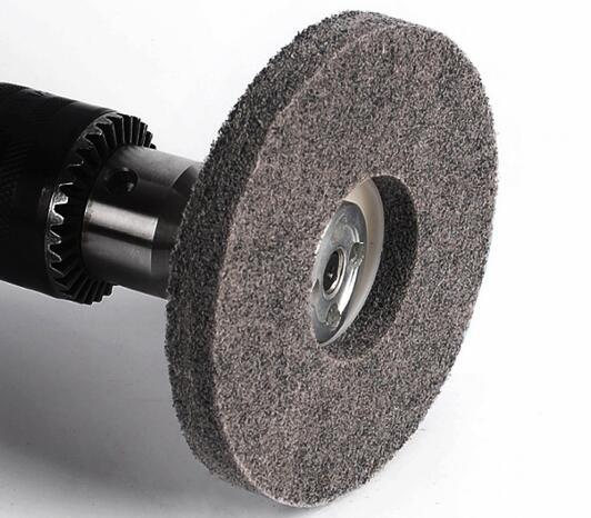top popular High Quality 100pcs 4 Inch Fiber Polishing Sanding Discs Set 100mm Metal Wood Buffing Wheel Pads 2021